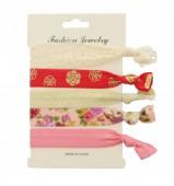B-D22.2 Ibiza elastic bracelet - hair ribbon 6pcs