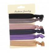 G-A7.3 Ibiza elastic bracelet - hair ribbon 6pcs