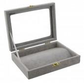 X-F2.1  Presentation Box Grey 20x15x4.5cm