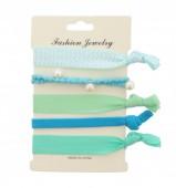 G-A5.3 Ibiza elastic bracelet - hair ribbon 6pcs