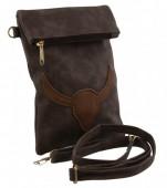 S-A1.4  Flip Top Handbag Buffalo 21x15cm BAG1678-001