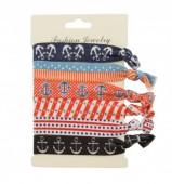 I-C16.2 Ibiza elastic bracelet - hair ribbon 6pcs