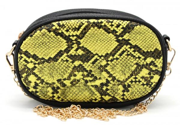 d20d070eea5 L-A6.1 BAG322-002 Festival Belt-Shoulder Bag incl Belt 19x12x7cm Yellow