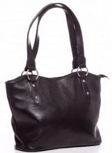 R-A5.2 BAG-553 Leather Bag 40x28x11cm Black