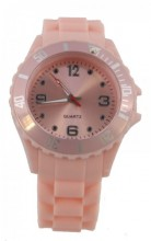 A-E18.2 Watch with Rubber Band 40mm Light Pink