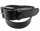C-E12.1  M027 Leather Belt Black 3.5x115cm