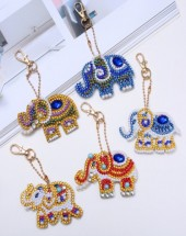 S-E5.4  QC013 Diamond Painting Keychain Set 5pcs