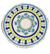 Beach Towel - Roundie BT09-005 150cm plus tassels