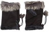 Q-A2.2 Hand Warmers with Fur Brown