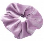 S-B3.2 H305-009A5 Velvet Scrunchie Purple