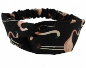 B-A1.5 Headband Flamingo Black