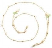 H-C18.1 GL698 Sunglass Chain Beads and Pearls