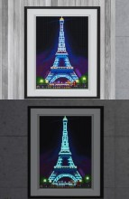 T-C4.1 YGSM13 Diamond Painting Full Set Glow In the Dark 35x25cm