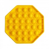 Pop it Hexagon - Yellow