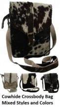 X-A10.1 Cowhide Crossbody Bags Mixed Styles and Colors