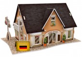 H-E24.2  W3126H 3D Puzzle Beer House Germany - 42pcs