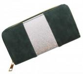 S-B1.5 WA012-001 Green-Silver Glitter 19x10cm