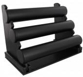 Q-N7.3 Display 3 Layers Black PU 32x23x17cm
