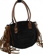 Z-C2.3 BAG119-006B Summer Bag Wicker Brown 35x27x10cm