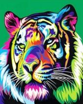 S139 Diamond Painting Set Tiger 40x50cm