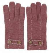 S-A7.5 TR-2013 Gloves with Buttons Old Pink