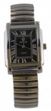 D-C7.4 Quartz Watch Stretch Bracelet 35x25mm Silver