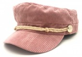 T-K7.1 HAT402-001 Sailor Cap Rib Fabric Pink