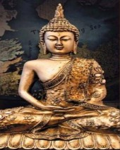 Q-C7.1 X371 Diamond Painting Set Buddha 40x30cm