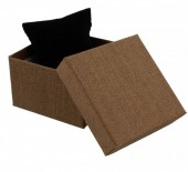 Y-F5.5 Giftbox with Cussion Brown 9x9x6cm