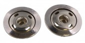 B-A7.6    Silver Click Earrings