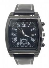 C-B16.2 W421-004B Quartz Watch with Date 40x45mm Black