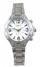 E-D16.1  Metal Watch for Large Wrist 25MM
