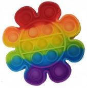 Z-A2.2  Pop it Flower - Rainbow
