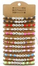 B-B20.2 B316-014 Bracelet Mix 12pcs