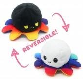 Y-F2.4  T2109-001 Reversible Octopus 20cm Rainbow