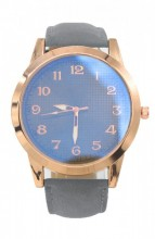 C-A15.2 WA204-001 Quartz Watch with PU Strap Rose Gold-Grey 50mm