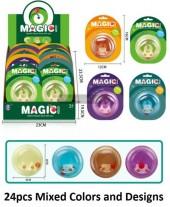 ZZ T2130-011 Magic Turn Figet Toy - Mixed Prints - 24pcs