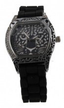 B-B3.5 Watch Panther with Rubber Band 40mm Black