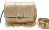 Y-C5.3 BAG534-004B Bum-Shoulder Bag incl Belt 19x12x5cm Gold