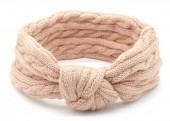 S-J5.3 H401-009E Knitted Headband Pink