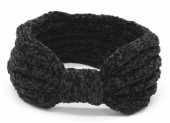 R-C4.1 H401-002A Knitted Headband Extra Soft Black