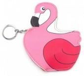 S-B2.2 BAG114-008 Keychain Wallet Flamingo