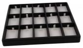 X-A1.1 Luxury Display for 15 Pendants or Piercings 23.5x20cm