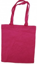 Y-A4.5 Cotton Shopper Bag 42x37cm Pink