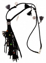 D-A3.4 Long Necklace with Tassels and Charms 80-90cm