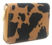 R-K2.1  WA531-001B PU Wallet Faux Cowhide Brown