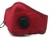E-C10.1 FM042-019B Face Mask with Room for Filter - Individually Packed - Red