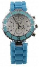 B-D6.4 Watch with Rubber Band 40mm Blue