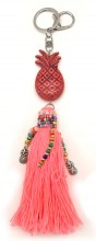 A-A22.1 KY219-002 Key-Bag Chain Pineapple Pink