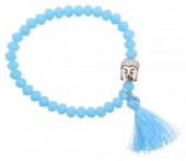 H-D22.5  Elastic Bracelet Buddha  B002-002